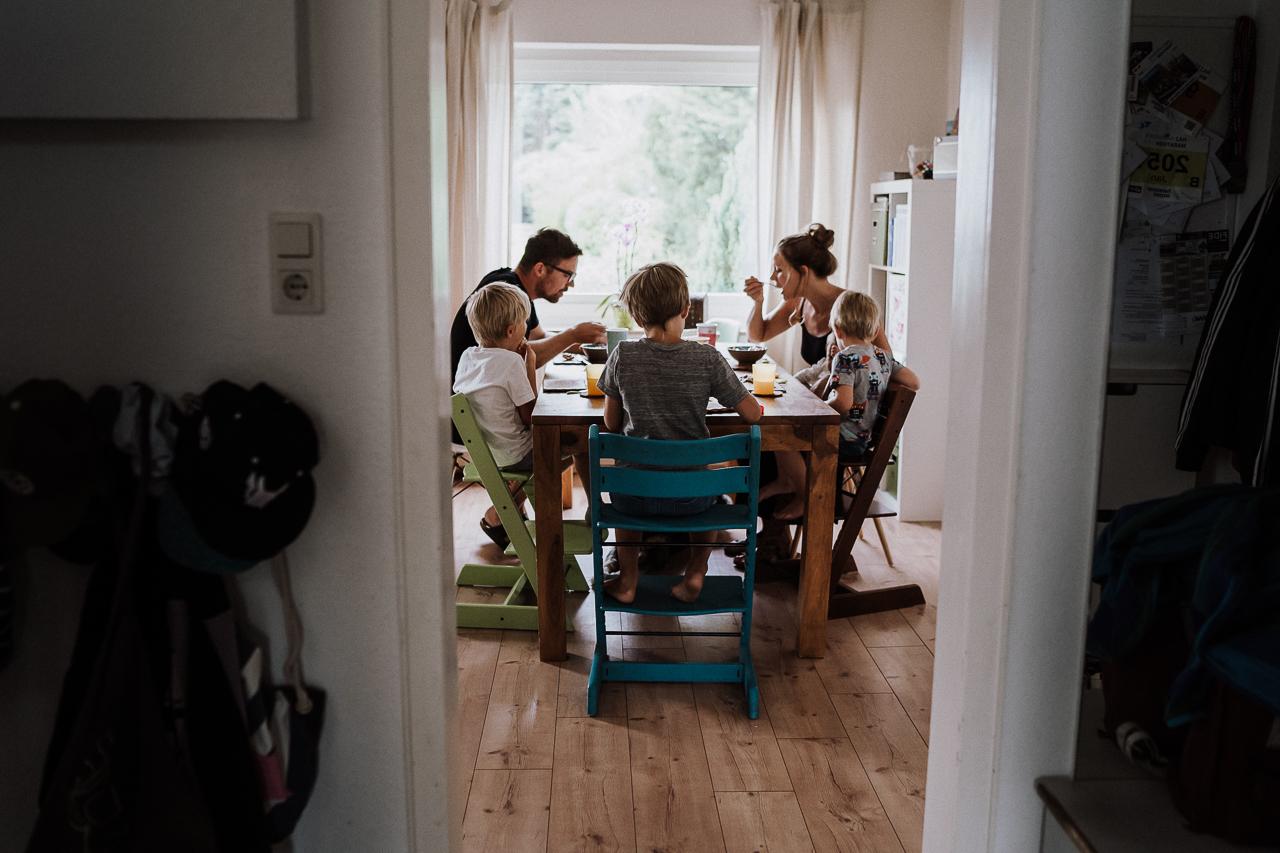 Familienfotos zuhause Bielefeld